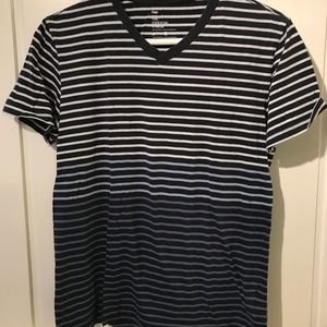 Blue Striped Gap Tee